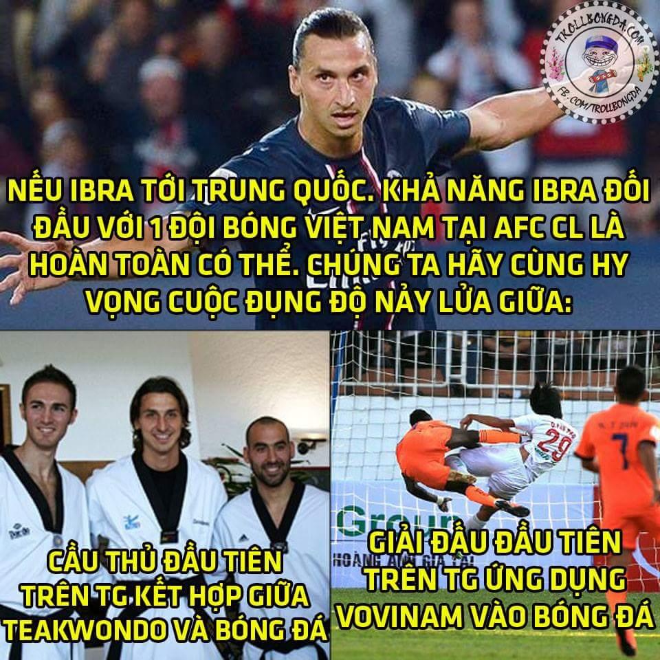 Sang China đi anh, bọn em muốn cho anh biết thế nào mới là kungfu bóng đá thực sự....