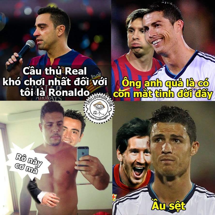 Người tài giỏi tên toàn Ronaldo là sao ta?