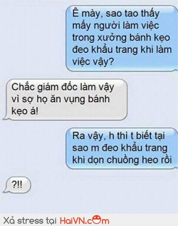Lí Do Đeo Khẩu Trang Troll