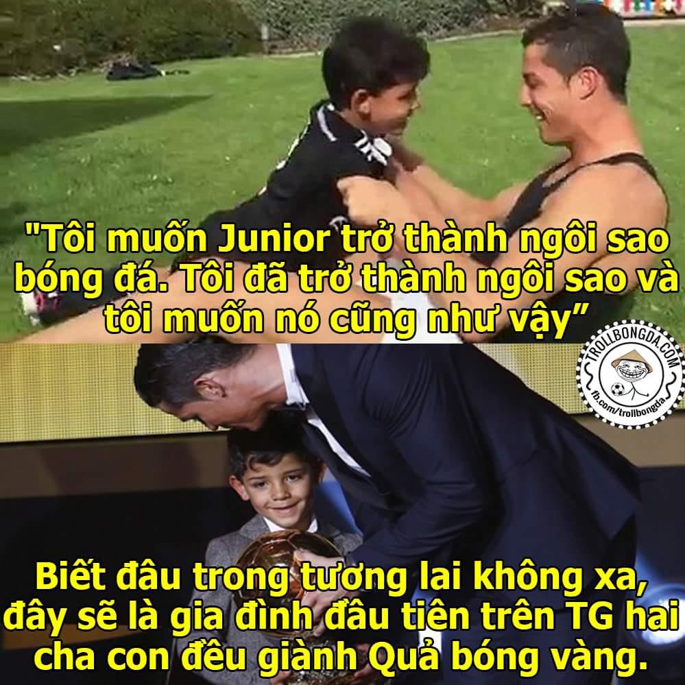 Cristiano Ronaldo Jr, hãy nhớ lấy tên thằng bé này!!!