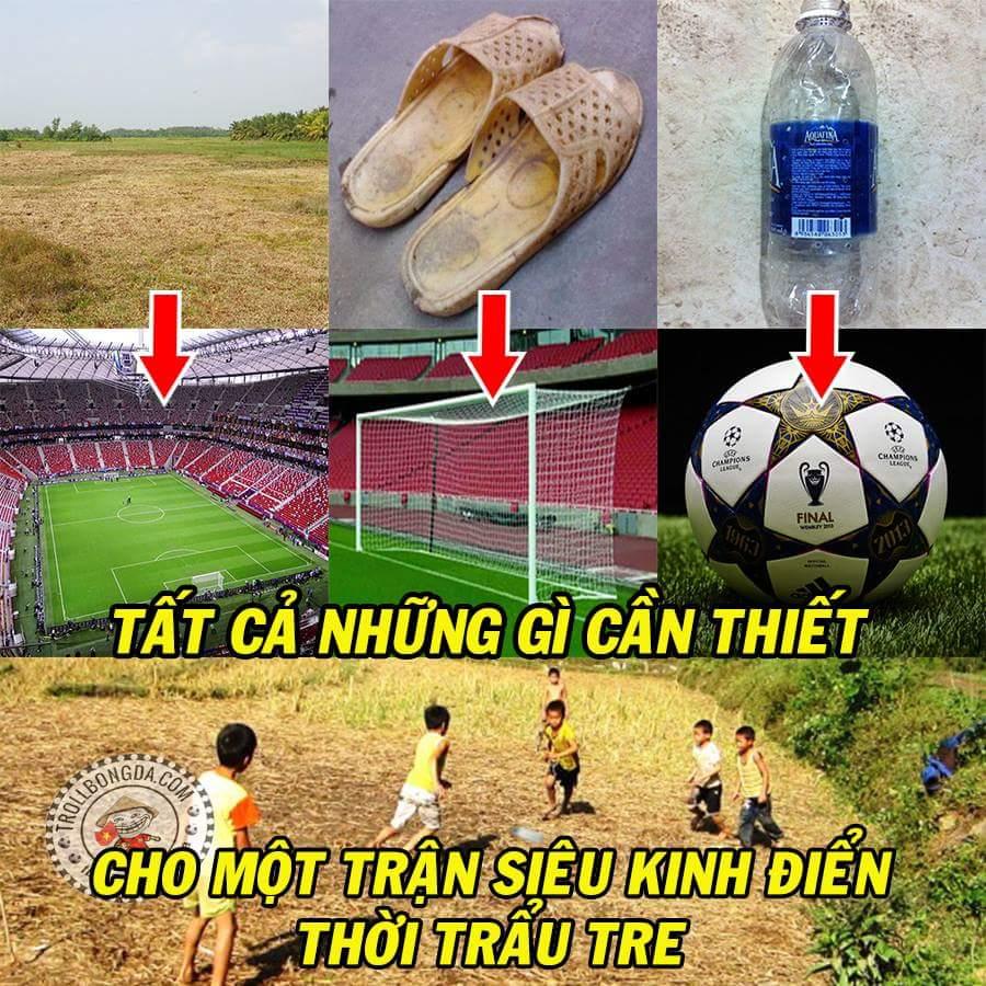 Nơi những Messi, Ronaldo, Mạc Hồng Young, LORD Bendtner ... của tương lai ra đời.