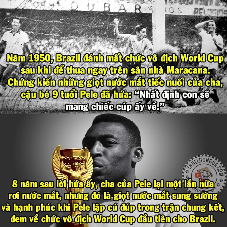 Tuổi 17 của Vua bóng đá.