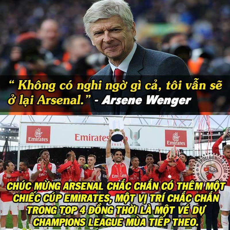 Mọi thứ đâu lại vào đấy cả. :3  #Arsenal