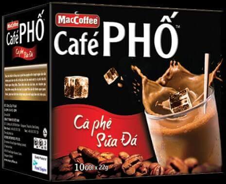 Cục an toàn thực phẩm (bộ Y tế) ra cảnh báo 2 lô sản phẩm thực phẩm Maccoffee café phố - Cà...