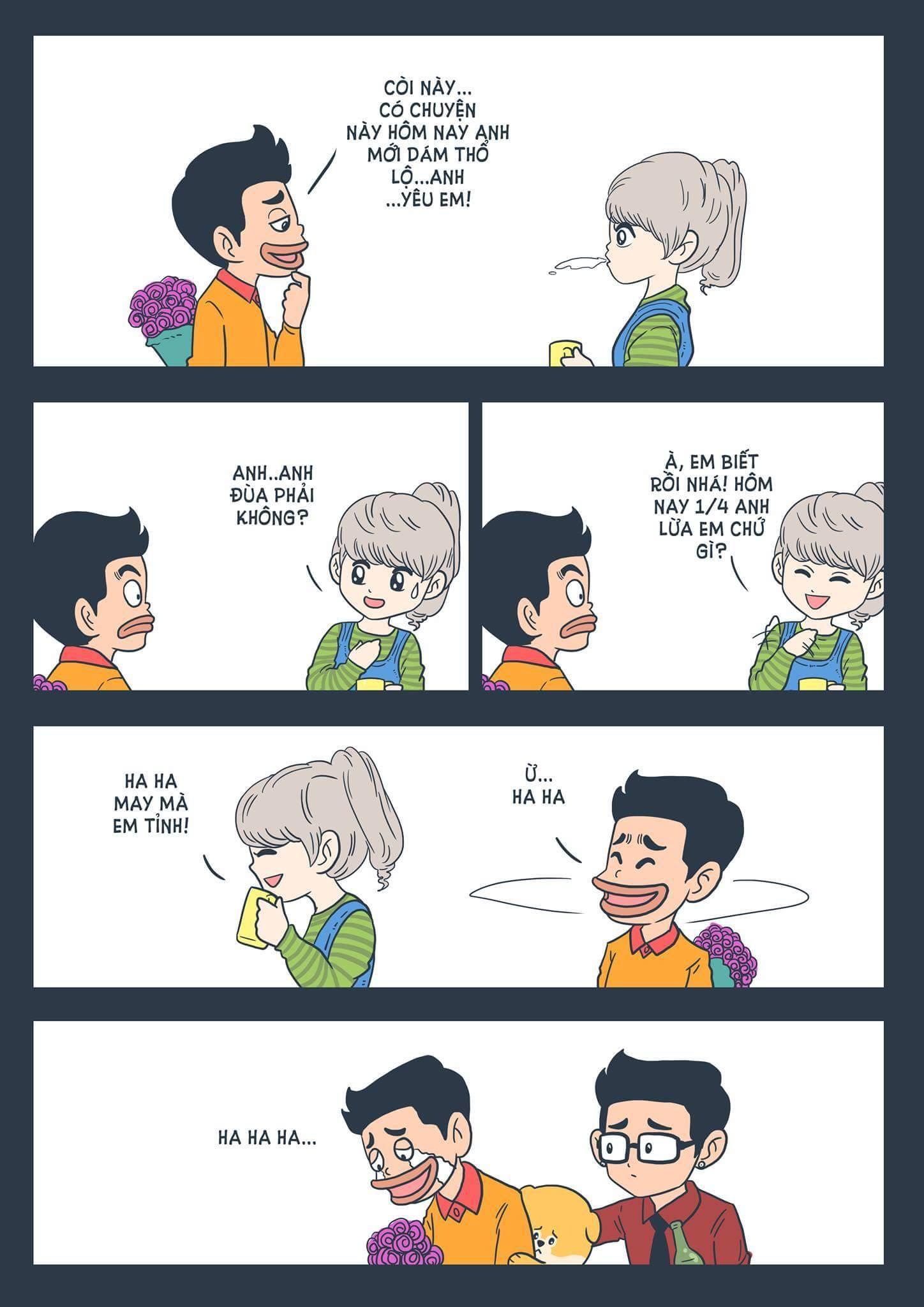 Haha. :(  #Méo | Nguồn: Thăng