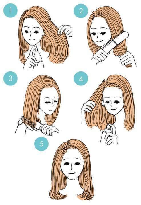 Kiểu tóc dành cho bạn gái