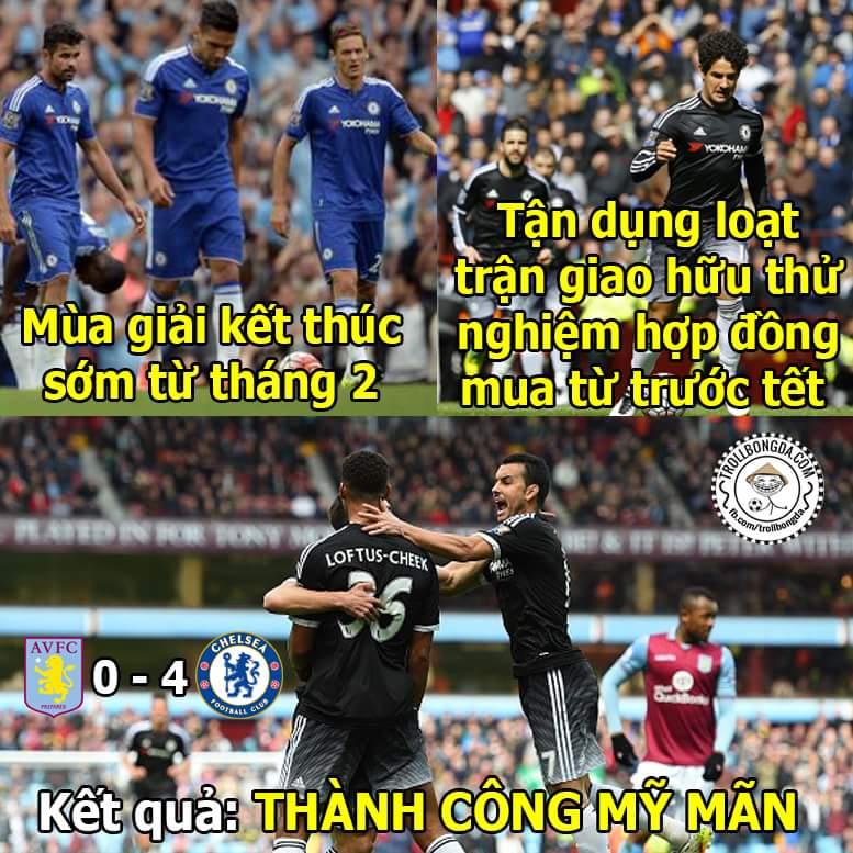 Hết giờ, trận giao hữu đại thành công của #Chelsea. Anh Pato ra mắt ngọt lịm....