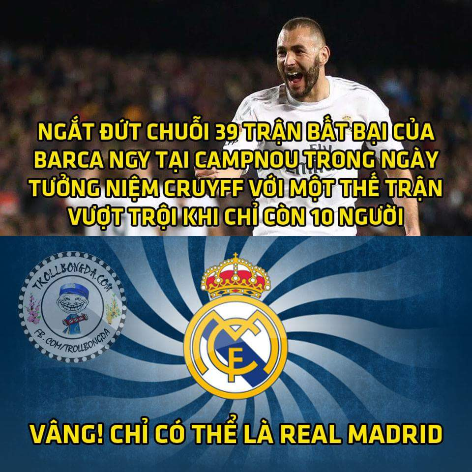 Không thể cảm xúc hơn!! Chúc mừng Real Madrid, quá xứng