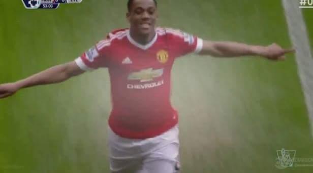 VÀOOOOOOOOOOOOOOOOO soái ca Martial ghi bànnnnn Manchester United 1 - 0