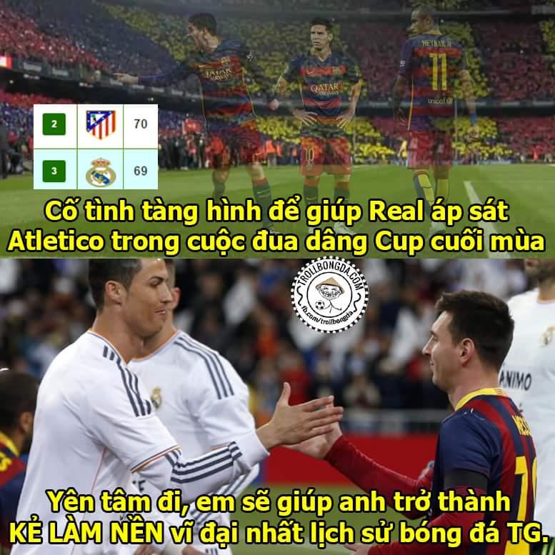 Si là Si chỉ thích Rô dâng cup cho Si thôi, hơm thích Atletico đâu