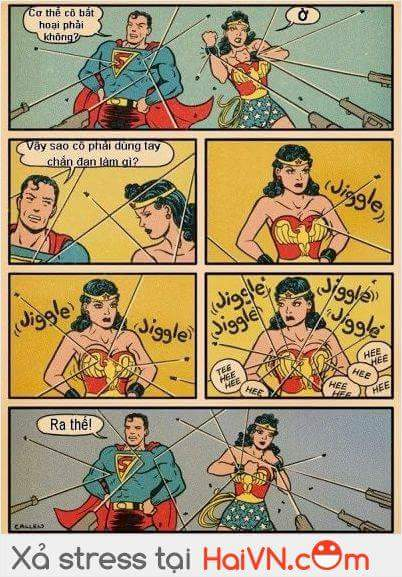 Lí do Wonder Women phải đỡ đạn