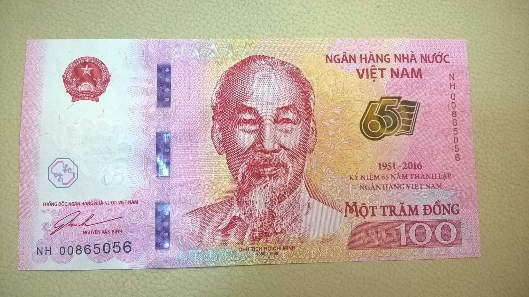 Ngân hàng Nhà nước vừa thông báo sẽ phát hành tiền loại mệnh giá 100 đồng để lưu niệm. Được...