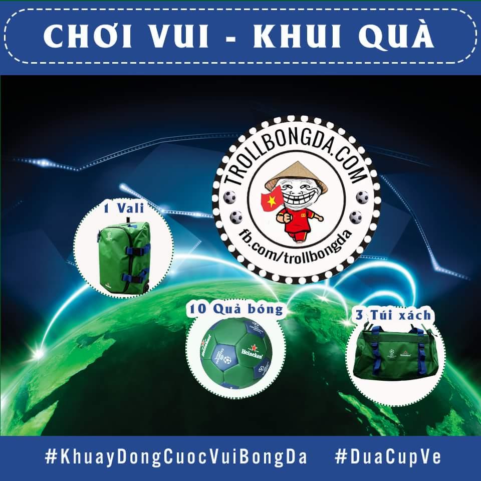 [MINIGAME] CHƠI VUI - KHUI QUÀ  ►THỂ LỆ: - BƯỚC 1: Comment #KhuayDongCuocVuiBongDa #DuaCupVe...