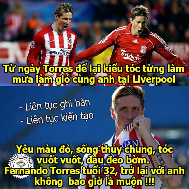 Đêm nay Barcelona sẽ phải đối đầu với một Torres Liverpool phiên bản hoàn hảo đấy !!!