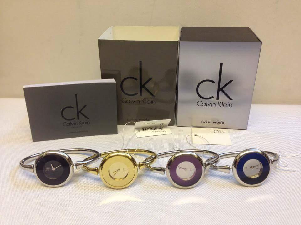 Đồng hồ calvin klein dạng lắc Mạ vàng 24k+ máy thụy sỹ Full box authentic Mặt đủ màu  Giá sale...