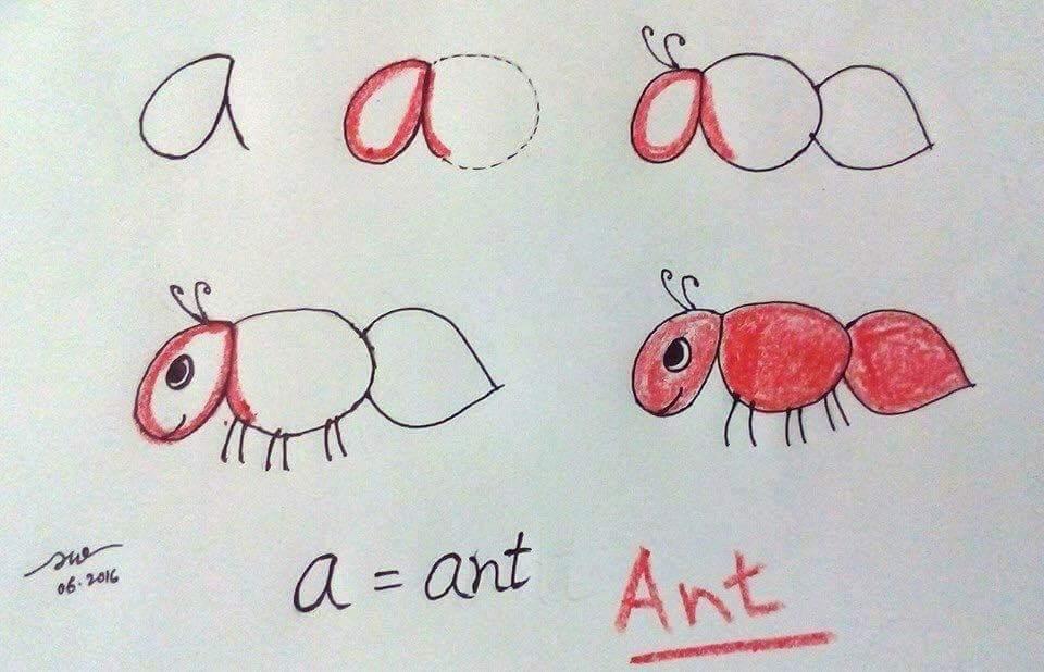 Vừa học vẽ vừa dạy bé Tiếng Anh nè ahihi