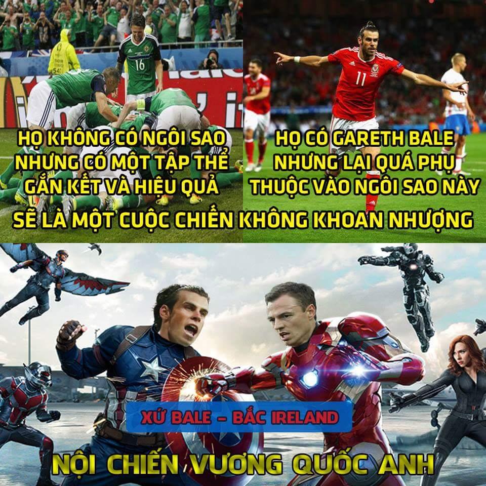Xứ Wales vs Bắc Ireland: Huynh đệ tương tàn! Không biết Bale sẽ tiễn Ireland về nước sớm hay...