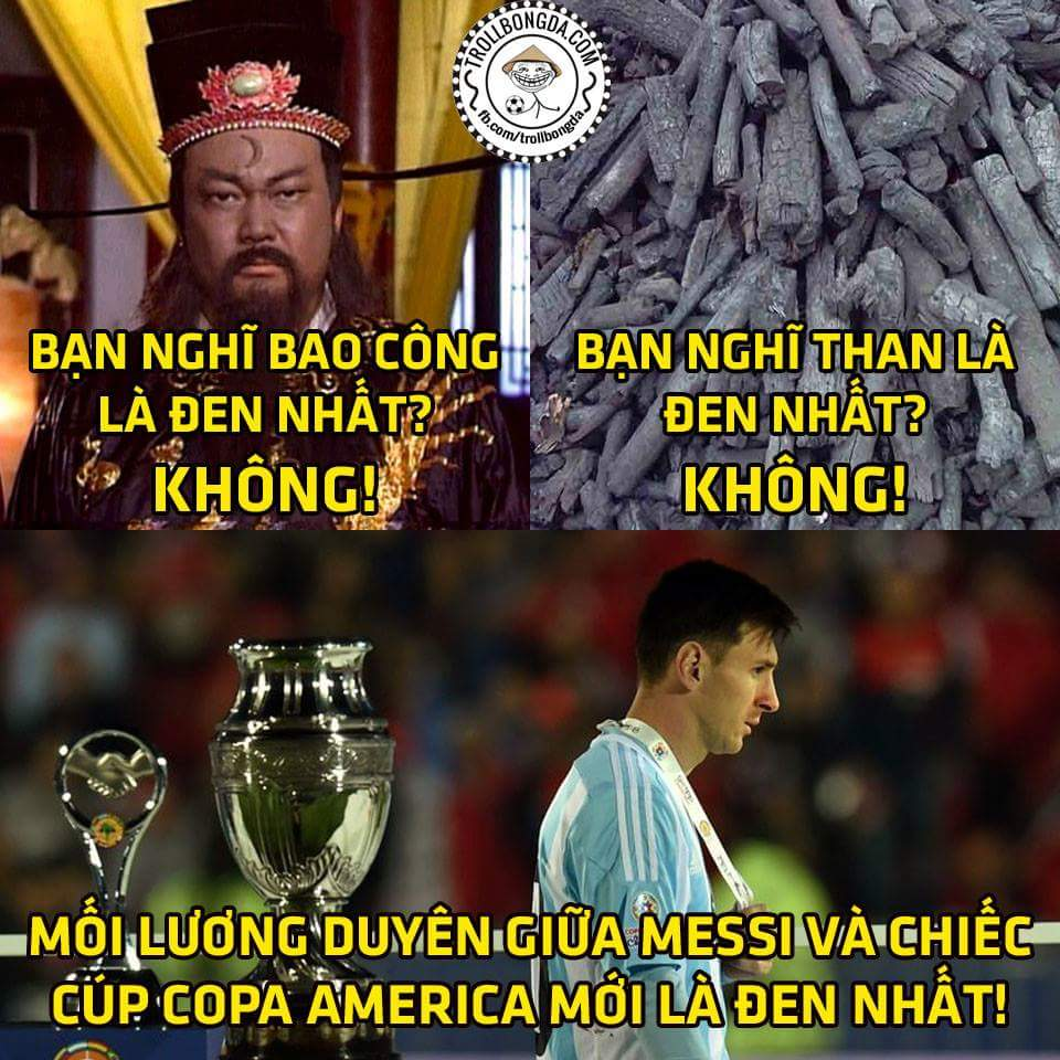 Biết giải thích sao đây? Lỗi là do ai hả Messi