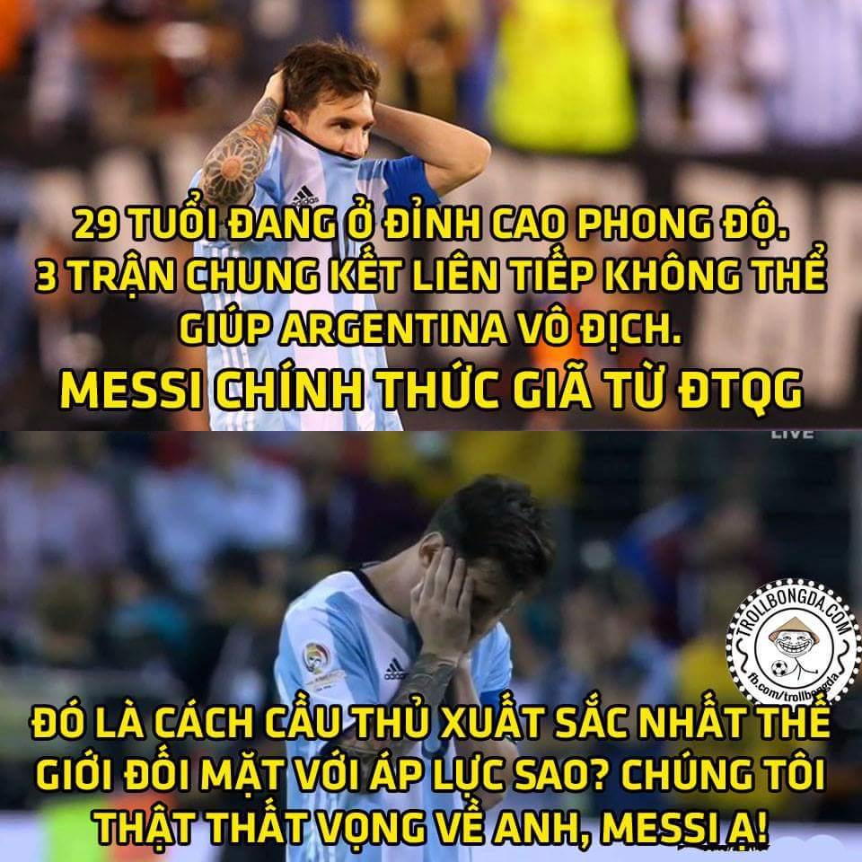 SỐC: Messi chia tay Argentina, chuyện quái gì đang xảy ra