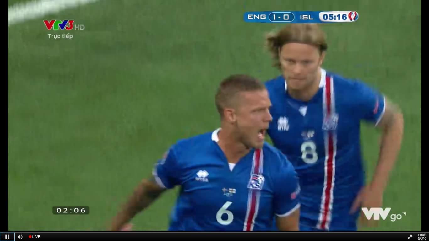 Ố là la :v Anh gì đó Sơn gỡ hòa ngay lập tức cho Iceland.