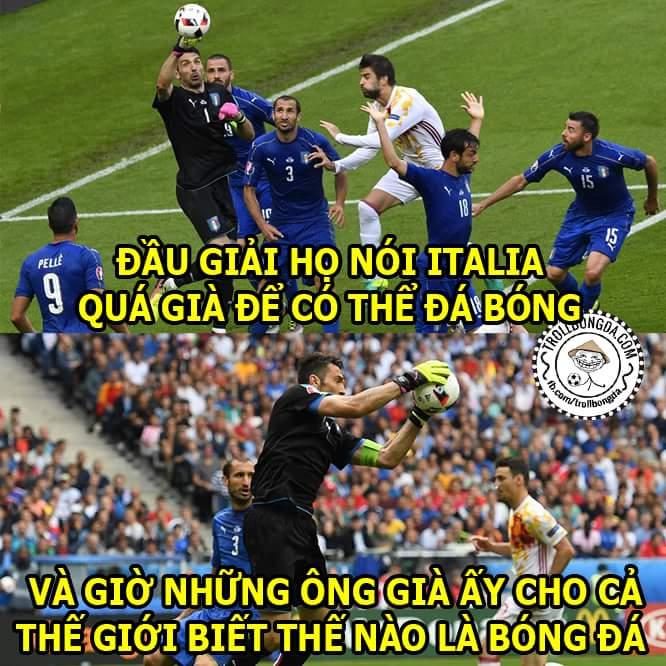 Đẳng cấp là mãi mãi, chắc chắn là như vậy (y) #Italia