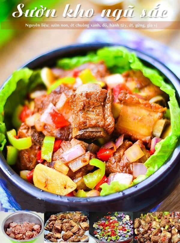 Công thức nấu các món từ thịt lợn / heo nhé cả nhà