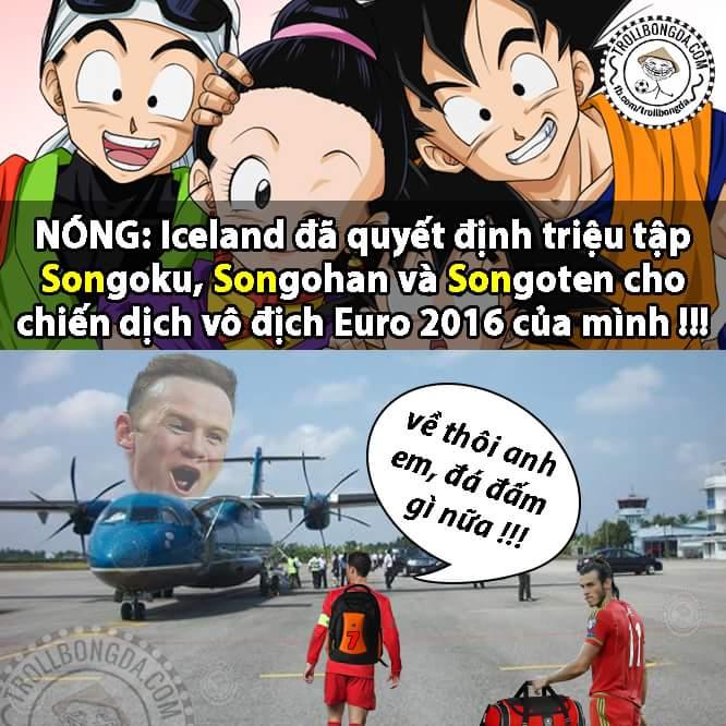 XONG !!! Iceland chính thức vô địch #Euro2016.