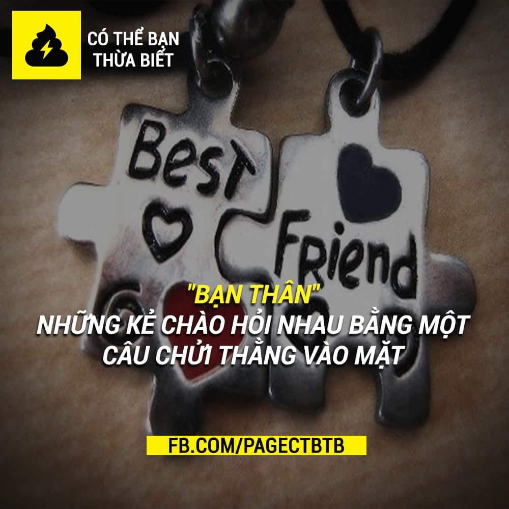 Bạn hay chào bạn thân thế nào?
