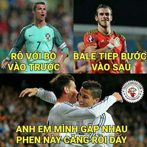 Bán kết Xứ Bale đụng Rô Đào Nha. Derby Madrid tại Euro. :v  -Thu