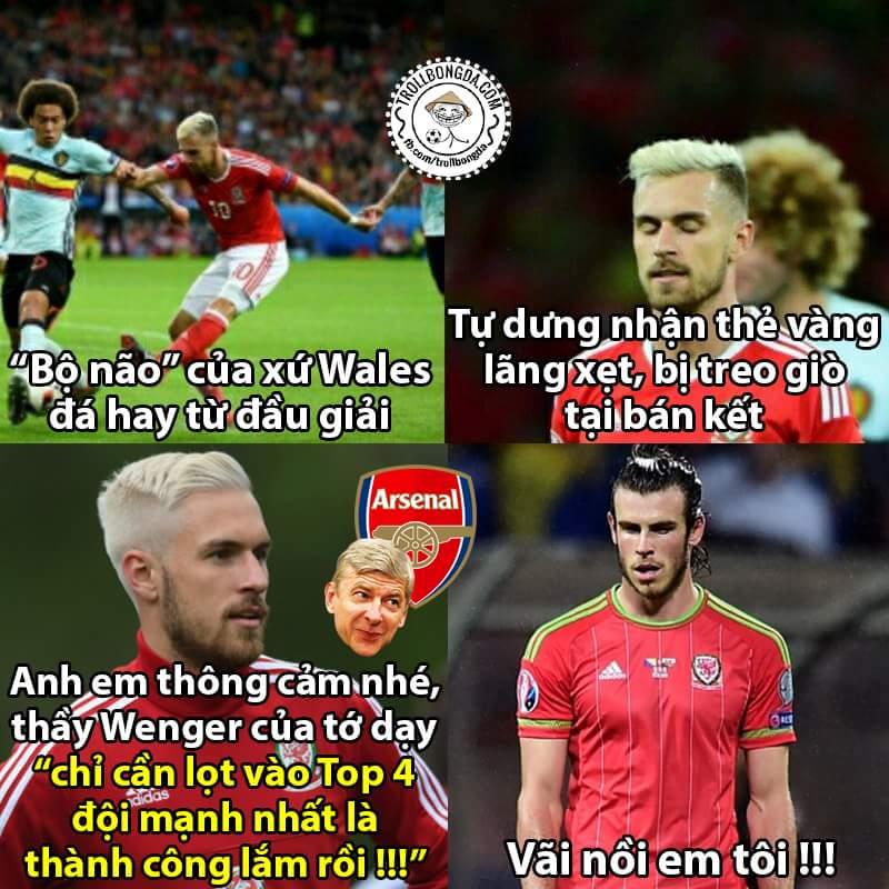 Vào bán kết là vào Top4. ;) học trò của bác Wenger nghỉ ngơi xả hơi được rồi =)) #Euro2016  -...