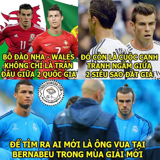 Nói thật đi, các bạn cổ vũ team #Ronaldo hay team #Bale