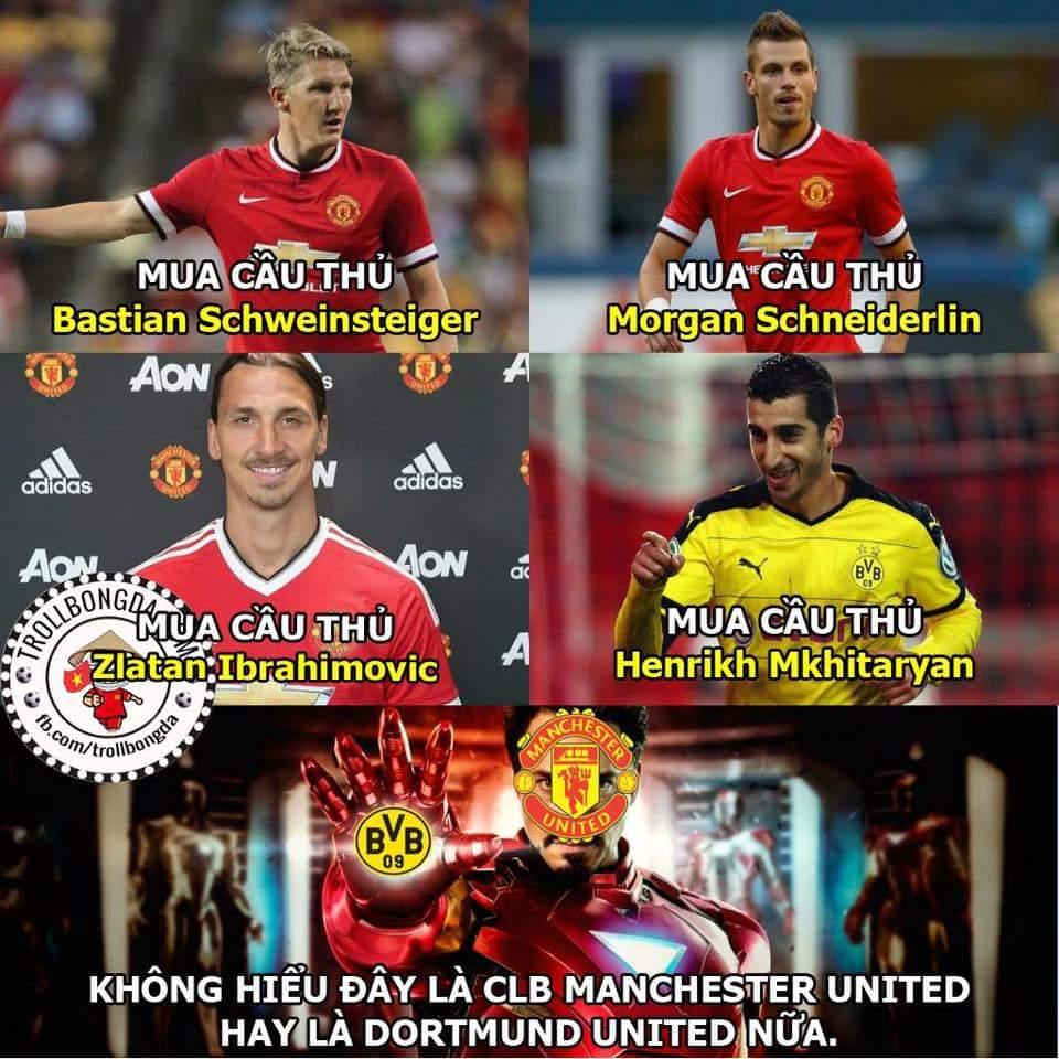 MU theo phong cách Dortmund từ khi nào vậy? @.@  - Hoài Vũ