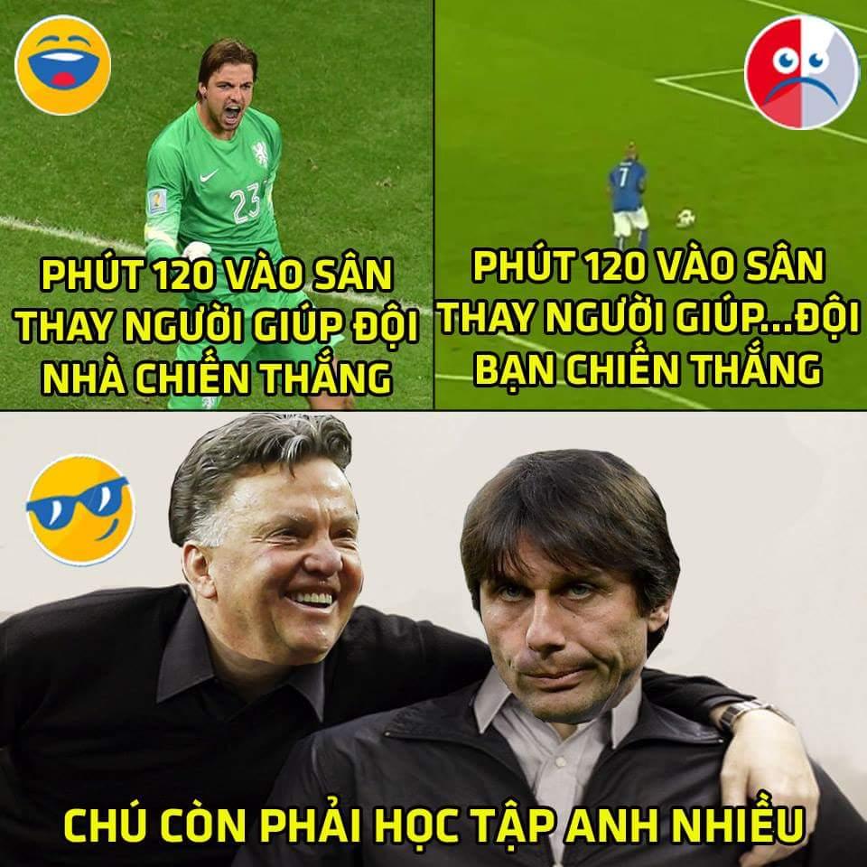 Conte còn phải học bác Viêm Gan nhiều :))