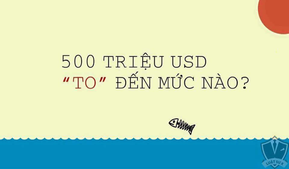 500 Triệu USD to tới
