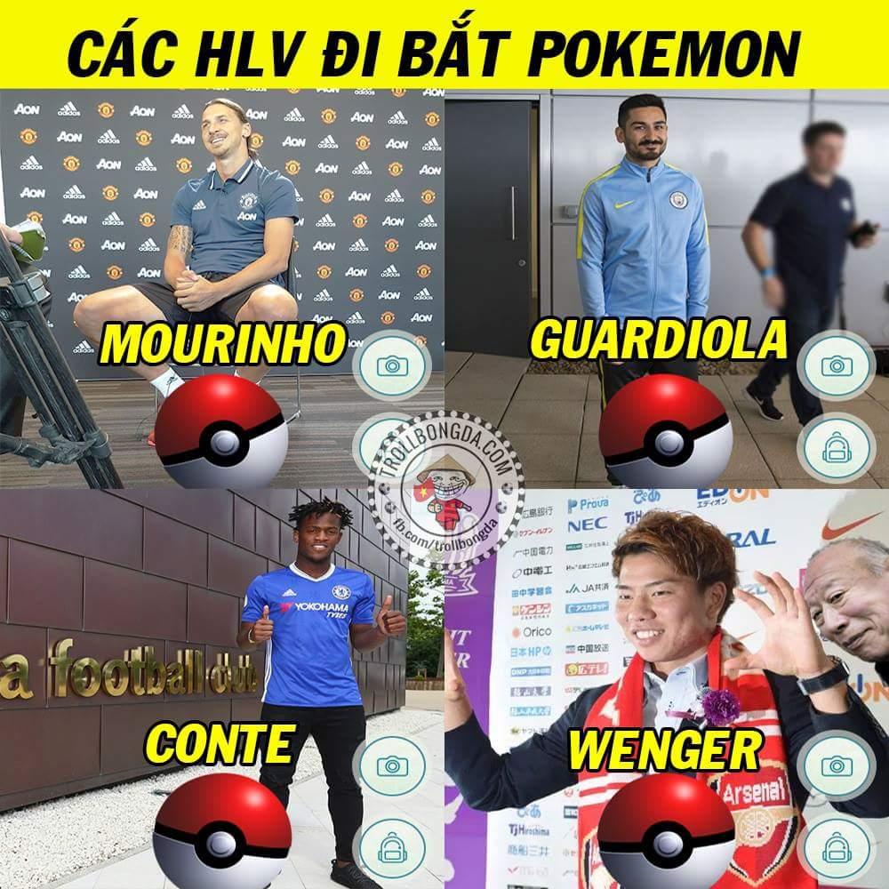 Bác Wenger bắt được hẳn 2 Pokemon kìa =)))