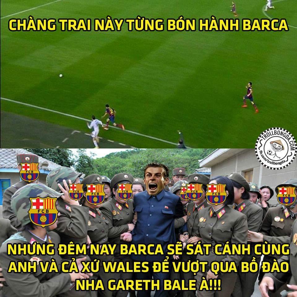 Vừa lo Messi bị sao không, vừa phải cổ vũ cho đối thủ, fan Barca buồn ghê gớm :v ...