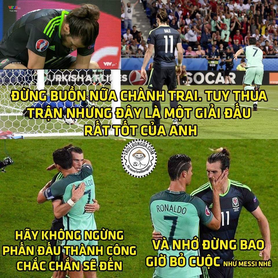 Một giải đấu thành công của Bale rồi, anh còn trẻ và hãy tiếp tục cố gắng nhé!! ...