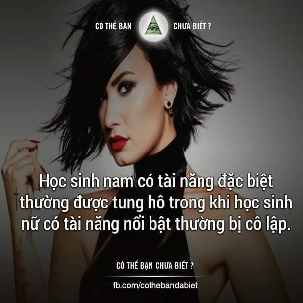 Demi Lovato là một ví dụ. Với tài năng đặc biệt, cô thường bị bạn bè ganh ghét, cô lập, thậm...