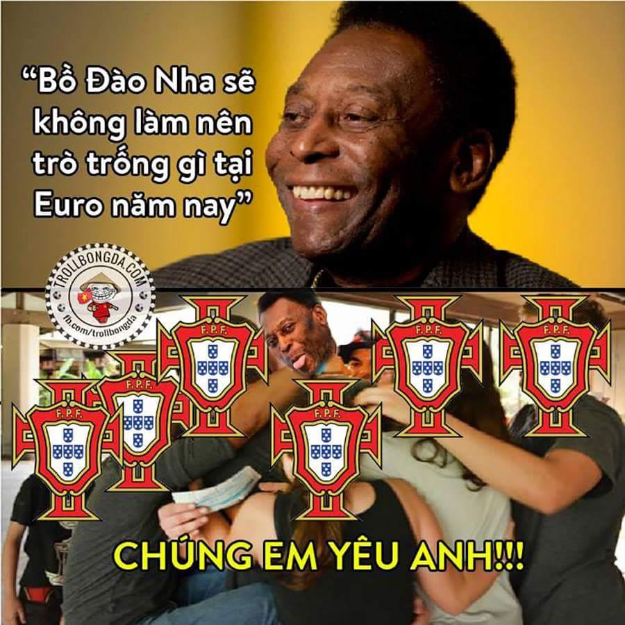 Rồi, chức vô địch đã nằm trong túi Rô và Bồ Đào Nha :)))))  - Duy Đạt
