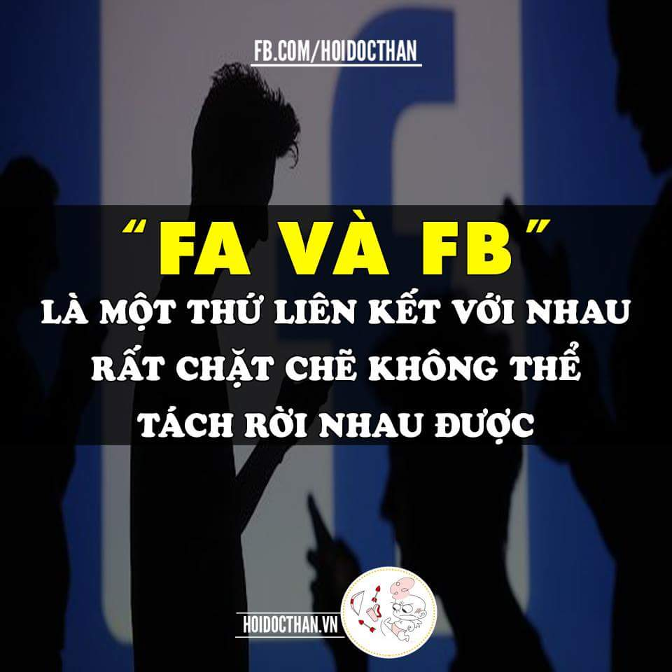 Hầu như những đứa F.A đều nghiện Fb
