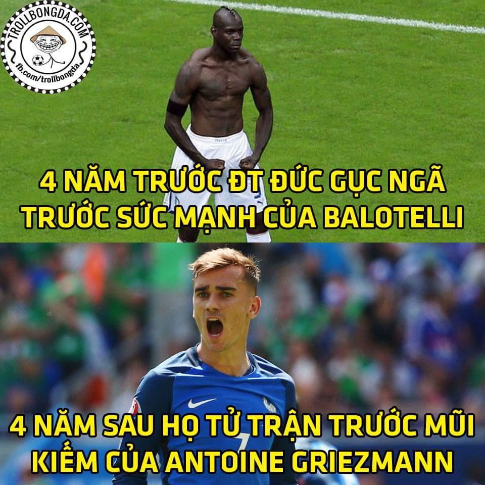 Hết giờ: Đức 0-2 Pháp. Đức rất tốt nhưng sự xuất sắc của Griezmann mới là giá trị lớn nhất! ...