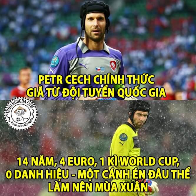 0 danh hiệu 100% huyền thoại #respect Pert Cech