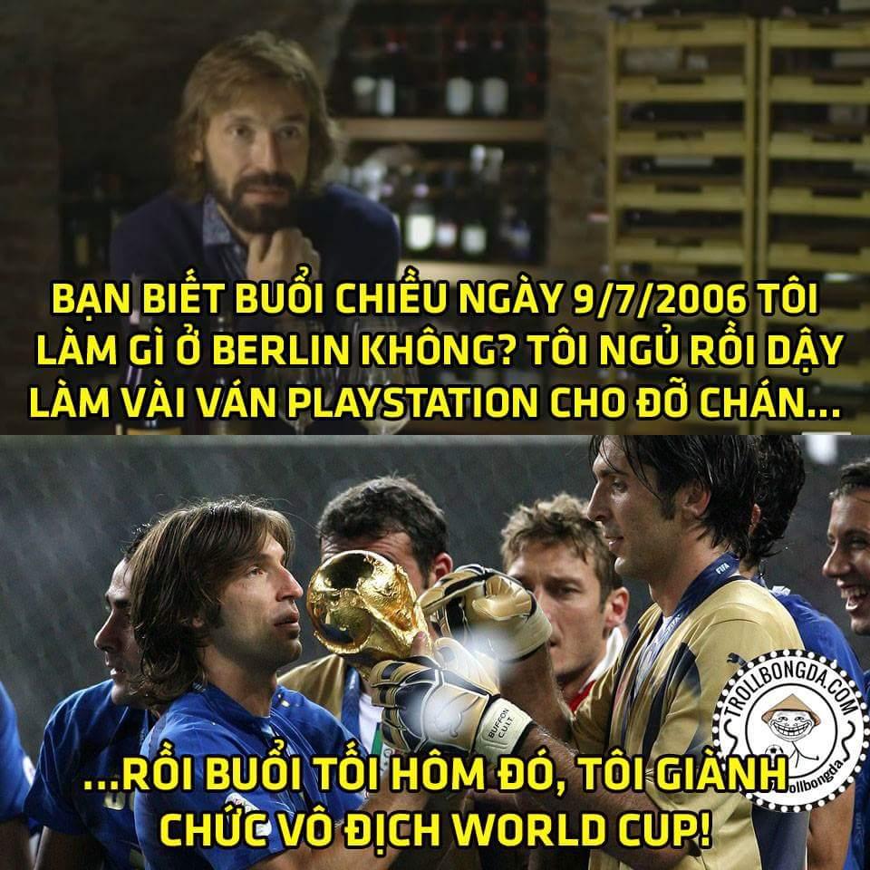 Ngày này 10 năm trước người Ý với thế hệ vàng đã giành cúp vàng World Cup, và đây là câu...