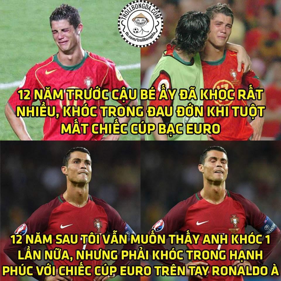 Anh sẽ làm được Ronaldo à, tôi và cả gia sản nhà tôi tin vào điều đó! ...