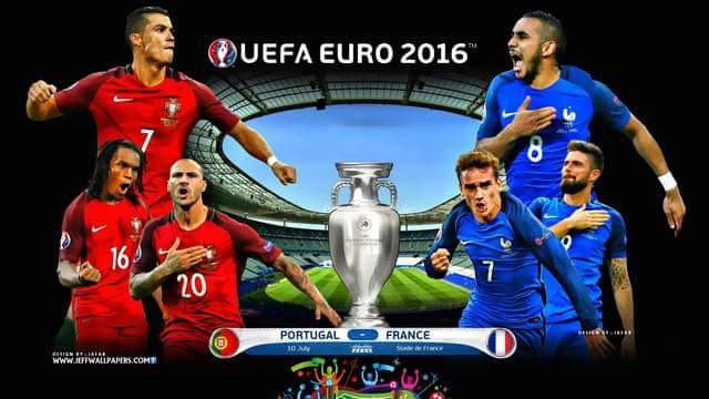 [ UEFA EURO FINAL 2016] PHÁP - BỒ ĐÀO NHA CHÍNH THỨC BẮT