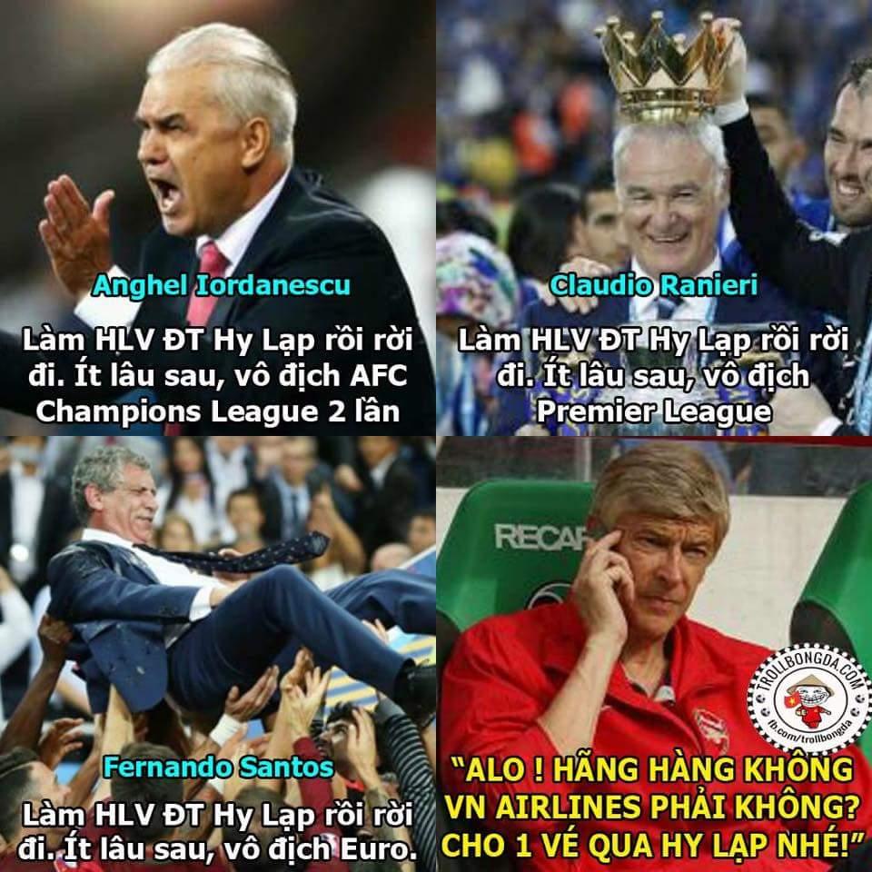 Bác Wenger nên sang Hy Lạp :P  - Hoài Vũ