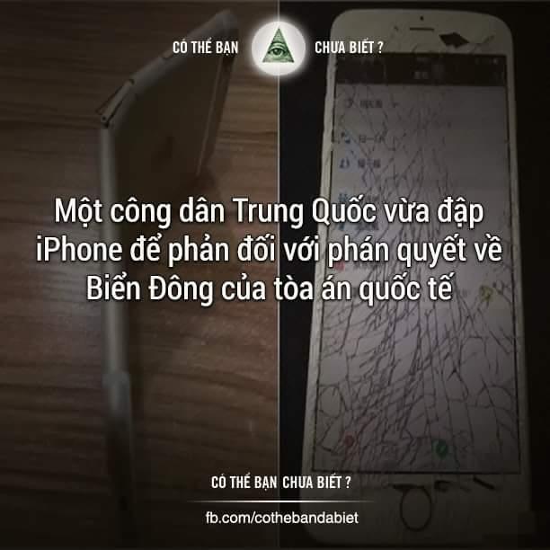 Này thì Iphone 6s này! Này thì hàng Mỹ này! Này thì chống lưng Phi này! Này thì phán quyết toà...