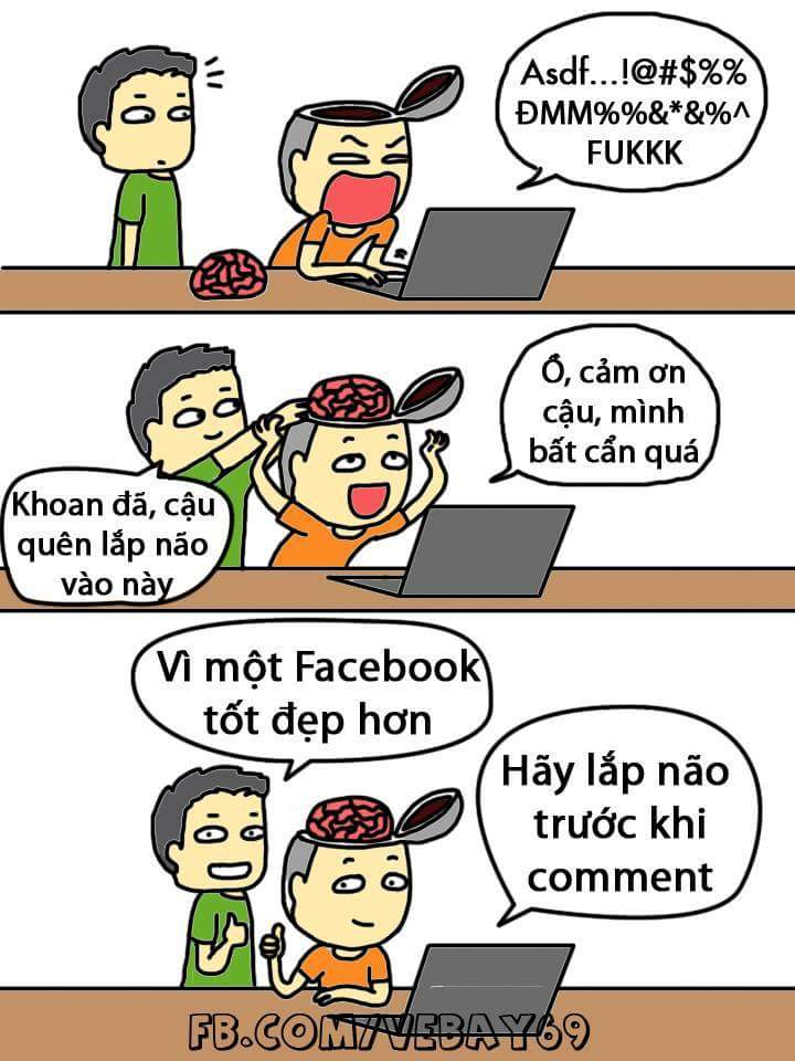 Hãy dùng facebook có tâm. :3