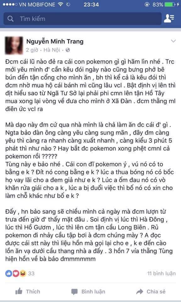 Hãy yêu một chàng trai không nghiện pokemon