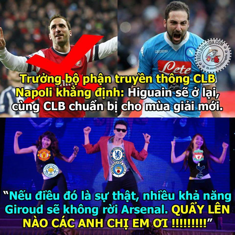 Ơn giời Giroud ở lại rồi =))